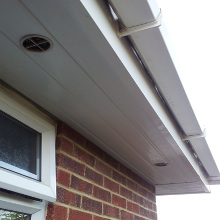 Gutter Cleaning Great Totham after photo.